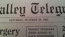 Back to the Future Part 2 Prop Replica October 26, 1985 Mr. Strickland Newspaper