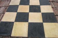 Quarry tiles Buff and Black 6x6