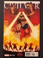 Civil War #5 (2015) Marvel Secret Wars 1:10 Monster Variant VF/NM