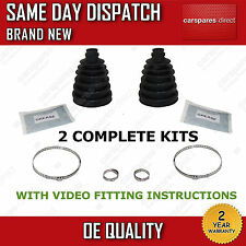 2x BMW OUTER CV BOOT KIT NEW