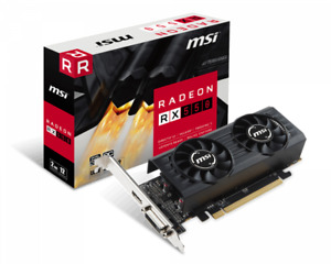 MSI AMD RX 550 2G low profile OC Edition Dual Fans MSI AMD RX 550 2G low profile