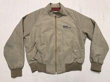 Mobil Oil Florida Operations Khaki Lightweight Mens Jacket Large 42-44 (NC9)
