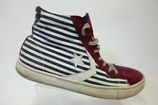 CONVERSE One Star Red/White/Blue Sz 9.5 Men High-Top Skate Sneakers
