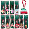 Hanging Christmas Xmas Tree Decorations Silicone Ornaments Baubles Novelty Kids