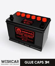 Mopar Battery S27M red (1966-74) Glue Caps kit