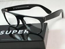 Retrosuperfuture Flat Top Optical Black Frame Sunglasses SUPER 610 NIB