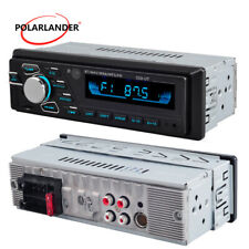 1DIN Car Stereo Radio Bluetooth MP3 Player SD/USB AUX FM 12V Steerl Wheel Remote