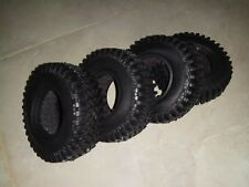 """4X NEW 1.9"""" rc crawler tires with foam inserts FREE SHIPPING  world wide"""