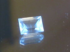 Topaz, Clear LIGHT BLUE Natural 3.45 ct SI Australian Rock Topaz, large size