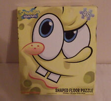 "Spongebob Squarepants Shaped Floor Puzzle 24"" x 36"" 46 Large Pieces"