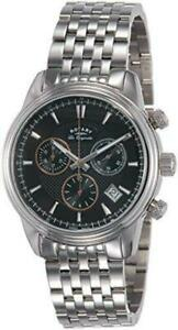 Mens Rotary Swiss Made Monaco Chronograph Watch GB90125/04