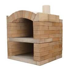 Pizzaofen BAUSATZ Rom Basic Holzbackofen Steinbackofen Schamotte