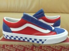 Vans Classic Style 36 BMX Men's Shoes Size 9 Checkerboard Blue Red VN0A3DZ3U8H