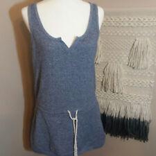VICTORIA'S SECRET Womens Blue TERRY CLOTH DRESS/ BATHING SUIT COVER-UP M