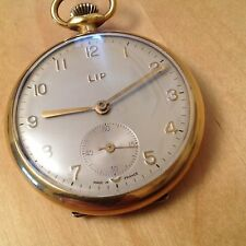 Lip Pocket Watch Mines de la Sarre Montre gousset