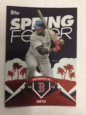 DAVID ORTIZ 2015 Topps Spring Fever SF-5 BOSTON RED SOX