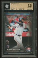 NOMAR MAZARA 2016 Topps Now RC #12 BGS 9.5 GEM MINT Texas Rangers