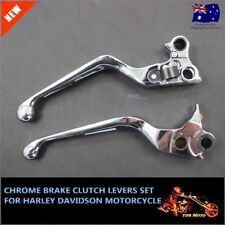 Alloy Chrome Brake Clutch Levers For Harley Davidson 2011/2012/2013/2014 Softail