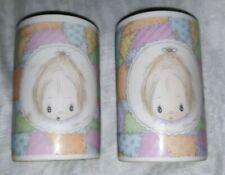 "2 Vtg Hallmark Betsey Clark Votive Candle Holders Only Porcelain 2 7/8"" x1 3/4"""