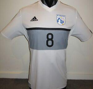 Cyprus National Team PIEROS #8 Adidas 16/17 Away Football Shirt Jersey Soccer XL
