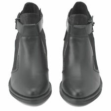 Senso QUINTON II black leather ankle boots