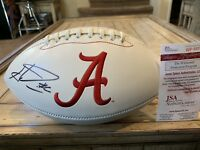 Haha Clinton-Dix Autographed/Signed Football JSA COA  Alabama GB Packers