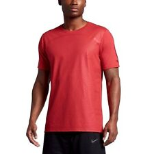 Nike sz S Men's Dri Fit Basketball T Shirt New $45 844508 602 Track Red