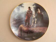 Prideful Ones Collector Plate- Appeasing the Water People - Chuck DeHaan-93