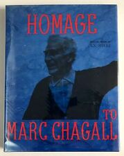 Homage to Marc Chagall G. di San Lazzaro Signed by Chagall 1st ed.