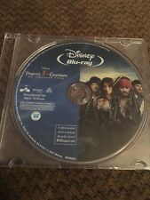 Disney Pirates Of The Caribbean On Stranger Tides 2011 Blu-ray Only Free Ship