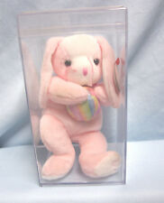 Beanie Babies -Ty Original Retired 2003 Eggerton Beanie Babie with Display Case