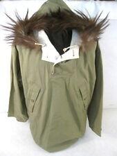 WWII US Army 10th Mountain Reversible Ski Parka w/Fur Hood - Medium - Dated 1942