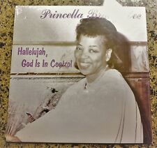 """STILL SEALED"" VINYL LP by PRINCELLA BRADY LEE ""HALLELUJAH, GOD IS IN CONTROL"""