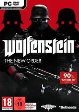 PC Spiel Wolfenstein: The New Order DVD Versand NEUWARE