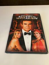 Never Say Never Again (DVD, 2000, Widescreen) Sean Connery       RARE       MINT