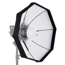 60cm Foldable Video Light Beauty Dish Softbox+Bowens Mount Studio Strobe H6Y7