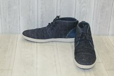 Steve Madden Fowler Fabric Chukka Boots, Men's Size 11, Navy