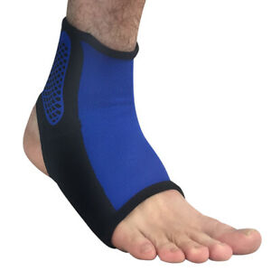 Men Sports Ankle Foot Protection Gear Basketball Football Running Support Brace