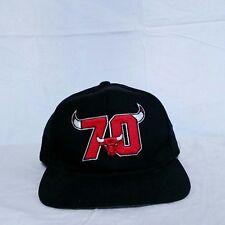 1e7754dc742 VTG Chicago Bulls Starter Snapback Hat 90s 70 Wins Cap NBA Arch Jordan