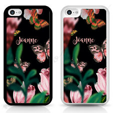 Personalised iPhone case, designer flower Samsung cover, personalised gift