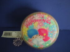 SUPER RARE VINTAGE 1998 SANRIO LITTLE TWIN STARS MINI COIN BAG,COIN PURSE+ CHARM