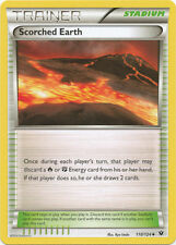 2 x Scorched Earth - 110/124 - Uncommon - Xy Fates Collide - Nm-Mint!