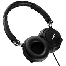 Frisby FHP-910 Portable Compact On-Ear Stereo Headphones w/ In-Line Microphone