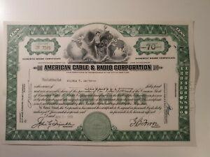 American Cable & Radio Corporation 1959