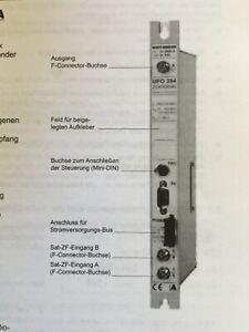 UFO 394 Kathrein Twin  Umsetzer QPSK SAT in PAL ANALOG