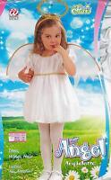 ABITO VESTITO COSTUME CARNEVALE LIL' ANGEL, ANGIOLETTO, 1/2 ANNI - 98cm.CIRCA