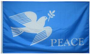 The dove of peace love Peach Flag size 3X5 Feet US Shipper