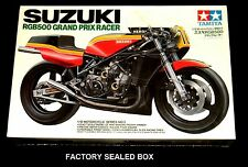 TAMIYA 1/12 scale kit SUZUKI RGB500 Grand Prix Racer 1980 Factory Sealed