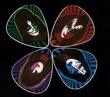 KISS SOLO ALBUMS GUITAR PICKS - SET OF FOUR