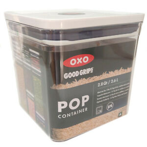 OXO Good Grips Kitchen Storage Container Plastic 2.6 Litre Air Tight
